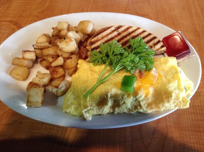 Western Omelette at Sizzling Skillet