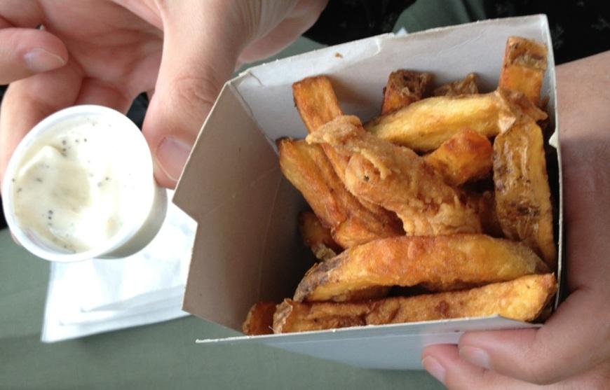 Home Cut Fries