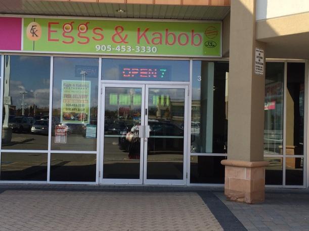 Eggs & Kabob