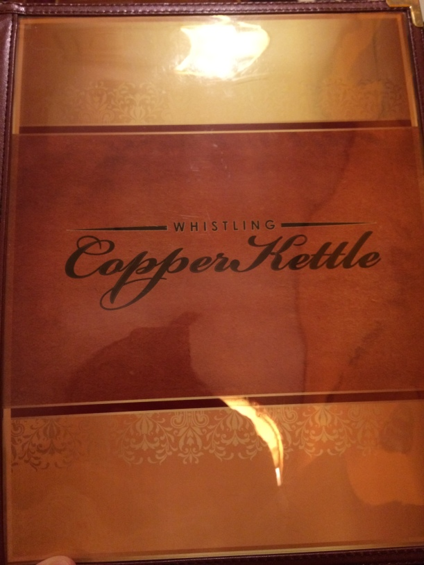 Whistling Copper Kettle