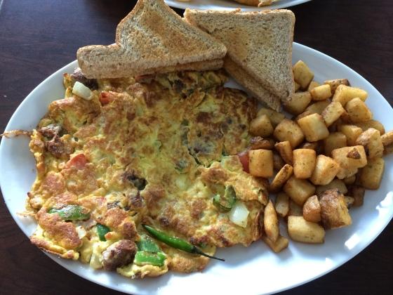 Eastern Omelette @ Eggs & Kabob