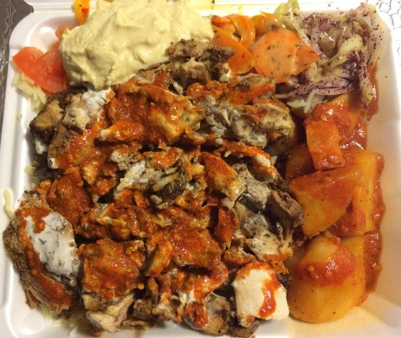 Chef's Door - Chicken Shawarma Plate