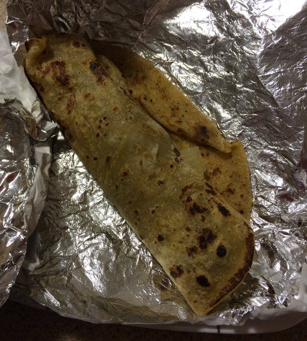 Chicken Bihari Kabab Roll