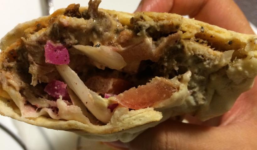 Chef's Door - Chicken Shawarma Sandwich